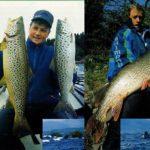 Jeziora pstrągowe w Irlandii - łowienie szczupaków